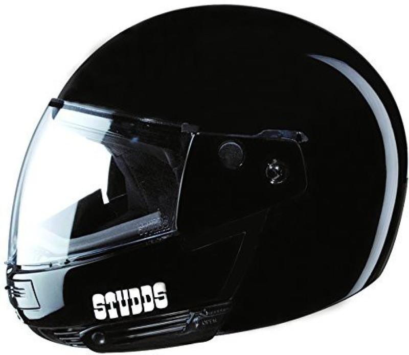 Studds Ninja Pastel Motorbike Helmet(Black)