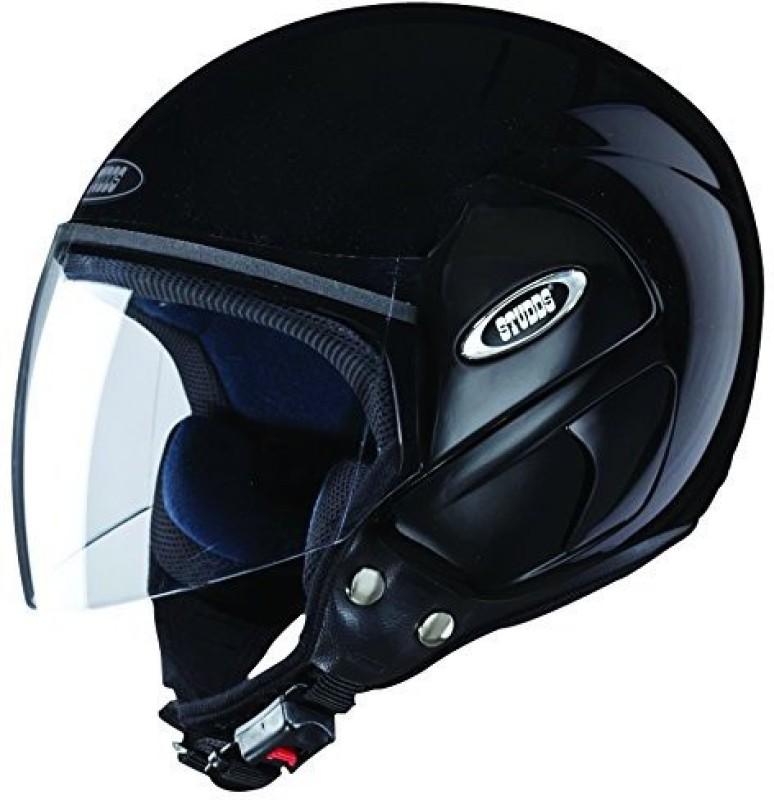 Studds CUB Motorbike Helmet(Black)