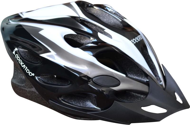 COCKATOO Large Skating Helmet(Black)