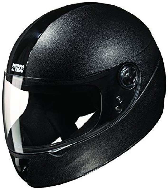 Studds Chrome Elite Motorbike Helmet(Black)