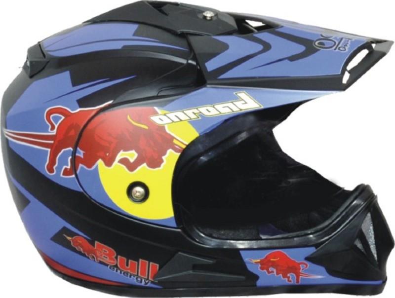 O2 DESIGNER BIKERZ ONROAD HELMET Motorbike Helmet(Black)