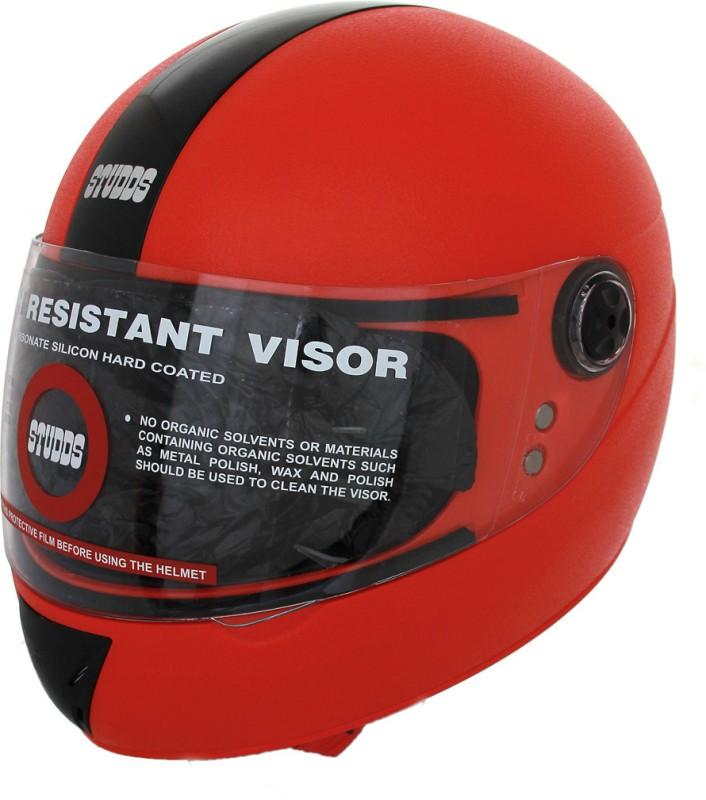 Studds Chrome Elite Motorsports Helmet(Red)