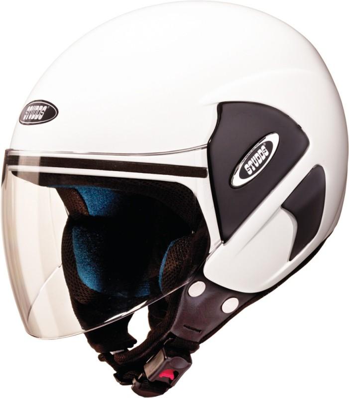 Studds CUB Motorsports Helmet(White)
