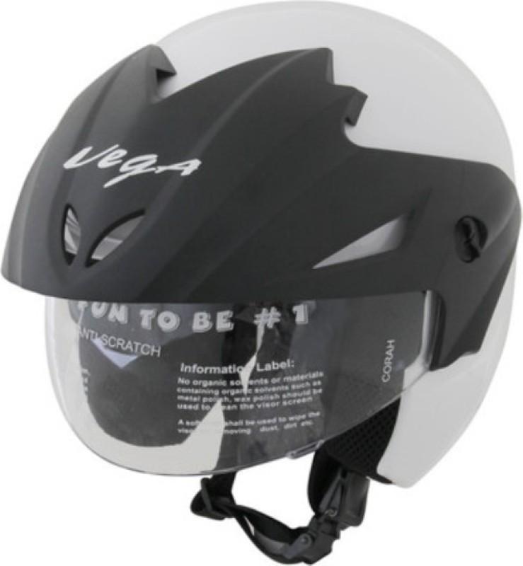 VEGA Cruiser Motorbike Helmet(White)