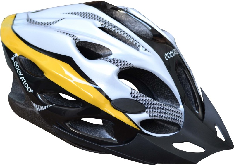 COCKATOO Large Skating Helmet(Yellow)