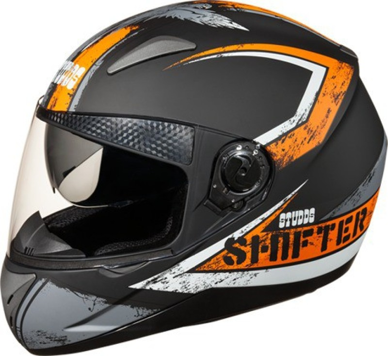 Studds Shifter D1 Motorsports Helmet(Orange)