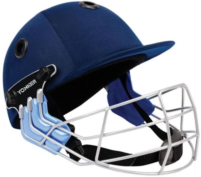Yonker Yonker Cricket Helmet Middle Order-M Cricket Helmet(Blue)