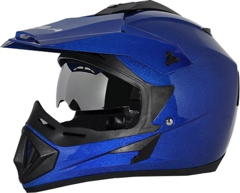 Vega Off Road D/V Monster Motorsports Helmet(Gloss Blue)