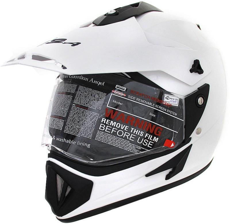 VEGA Off Road D/V Motorsports Helmet(White)