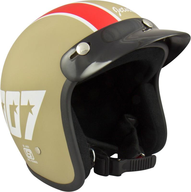 Anokhe Collections Jetstar 007 (ISI Certified) Style Motorbike Helmet(Matte Desertstorm)