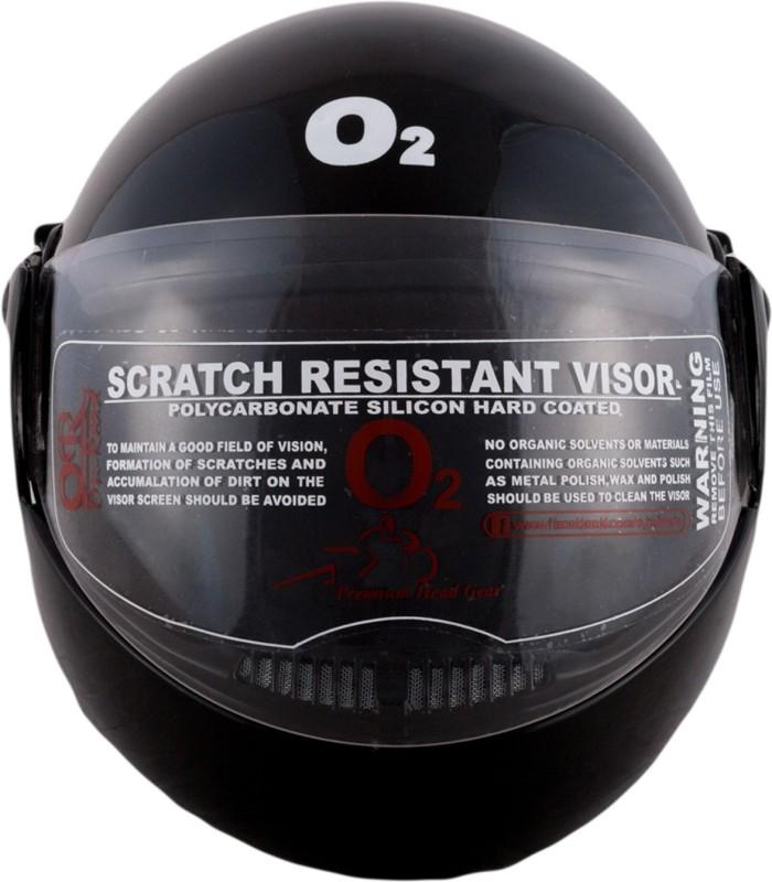 Autofy O2 Zed Full Face Motorbike Helmet(Black)