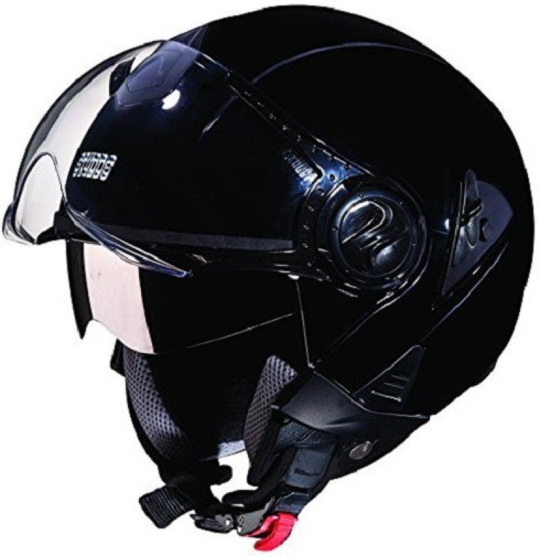 Studds Downtown Motorbike Helmet(Matt Black)