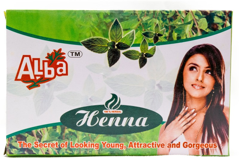 Alba Henna Powder (100% Natural Henna Powder - Natural Hair Colour)(200 g)