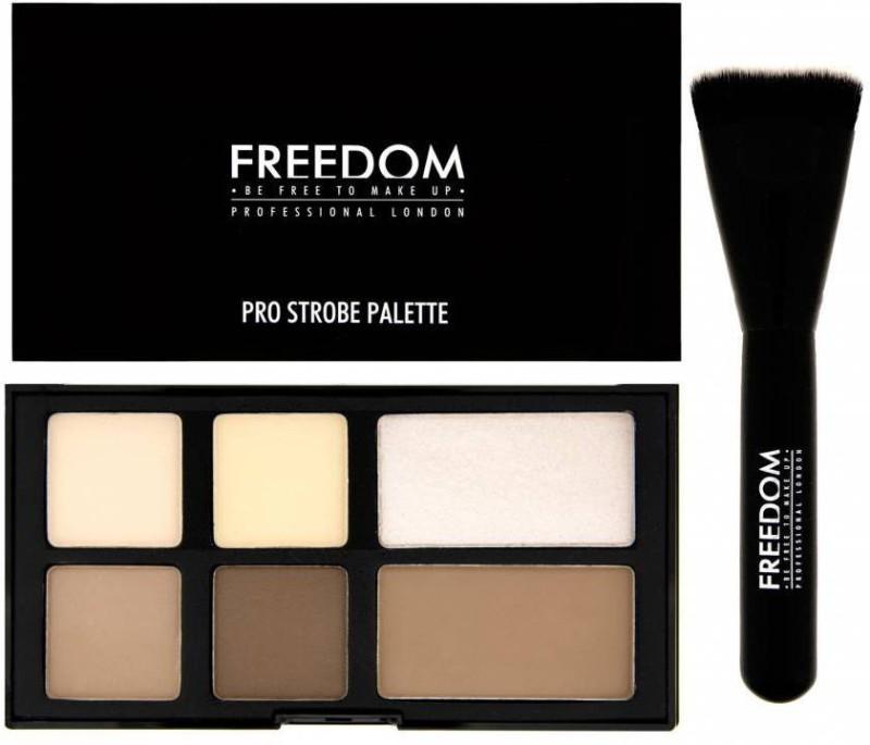 Freedom PRO STROBE PALETTE WITH BRUSH Highlighter(STROBE)