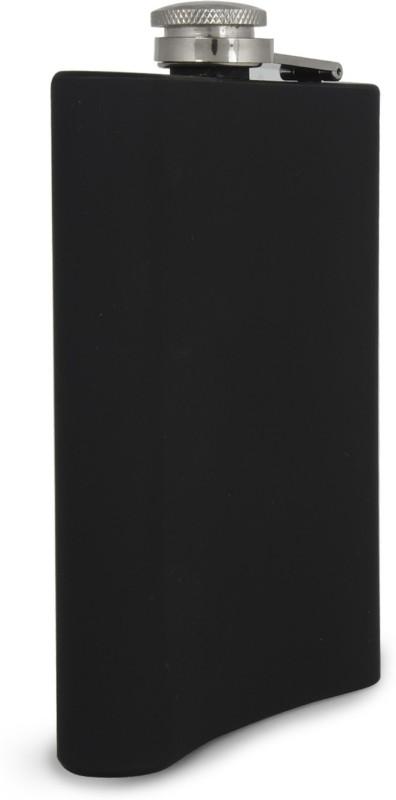 Taino Matte Black Stainless Steel Hip Flask(235 ml)