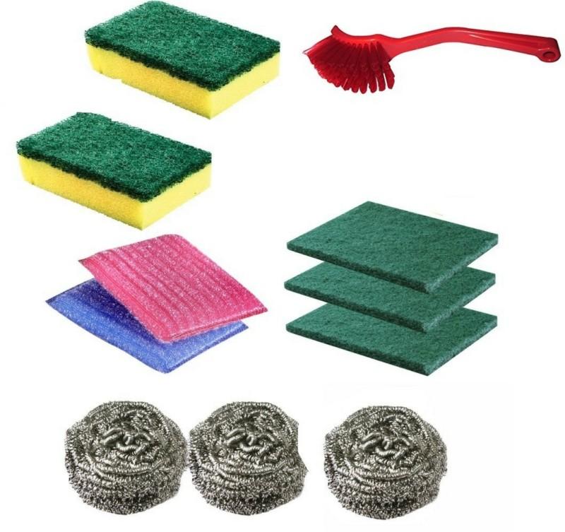 ariser enterprises dish cleaner scrube set and sink cleaner brush Scrub Pad