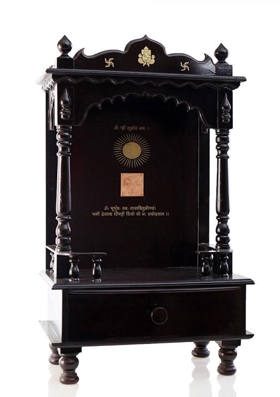 Pandit Shivkumar Vastu Ideas Wooden Home Temple(Height: 45 cm)