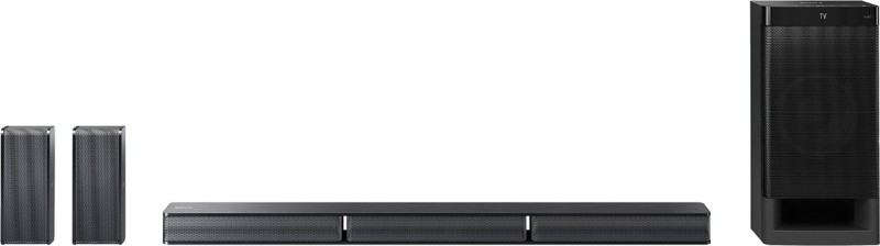 Sony HT-RT3 600 W Bluetooth Soundbar(Black, 5.1 Channel)