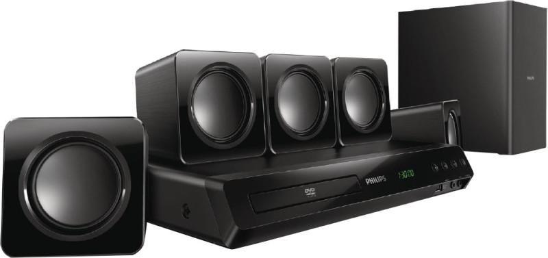 Philips HTD3509 / 94 300 W Home Theatre(Black, 5.1 Channel)