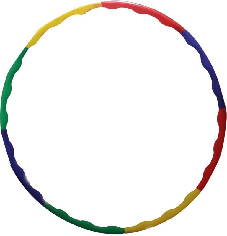 Abasr BABY KIDS MULICOLOUR PLASTIC HULLA HOOP Hula Hoop(Diameter - 68 cm)