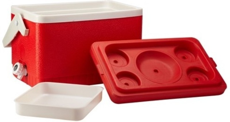 Milton Plastic Ice Bucket(Red 13 L)