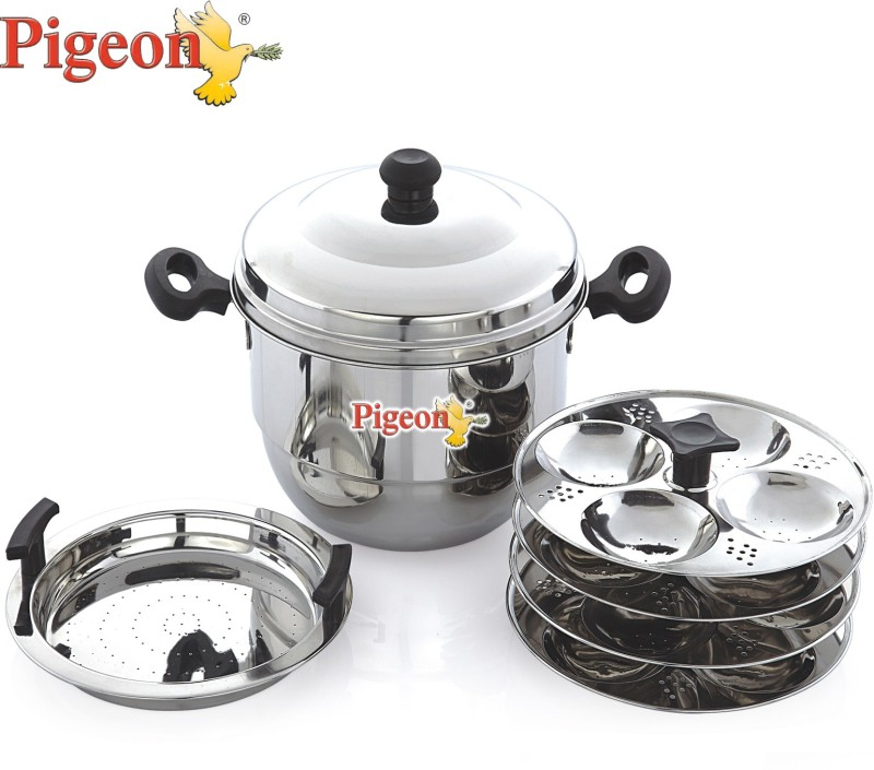 Pigeon Hot 16 Induction & Standard Idli Maker(4 Plates )