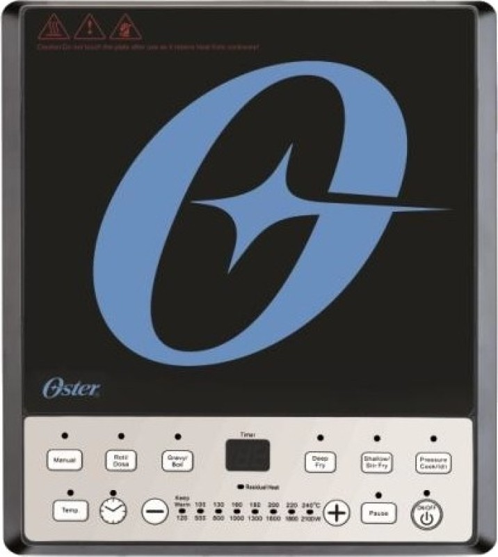 Oster CKSTIC1111-449 Induction Cooktop(Push Button)