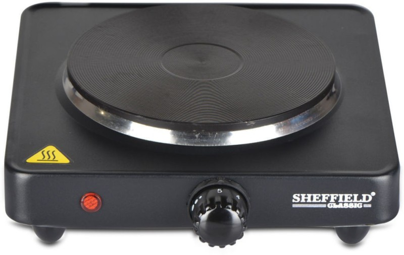Sheffield Classic SH 2001 AT Indoor Hot Plate Radiant Cooktop(Black, Push Button)