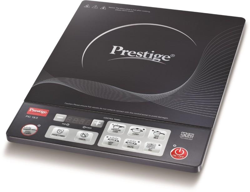 Prestige 41942 Induction Cooktop(Black, Push Button)