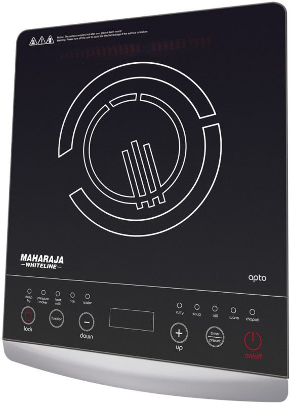 Maharaja Whiteline IC 102 Induction Cooktop(Touch Panel)