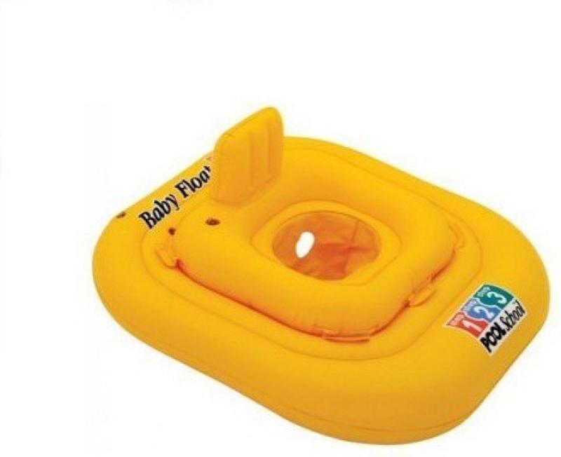 Intex Step School Inflatable Swim Ring(Yellow)