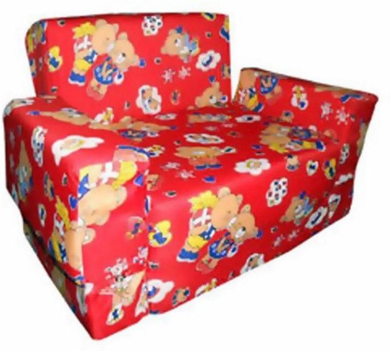 Y & J Kids Inflatable Sofa Cum Bed(Red)