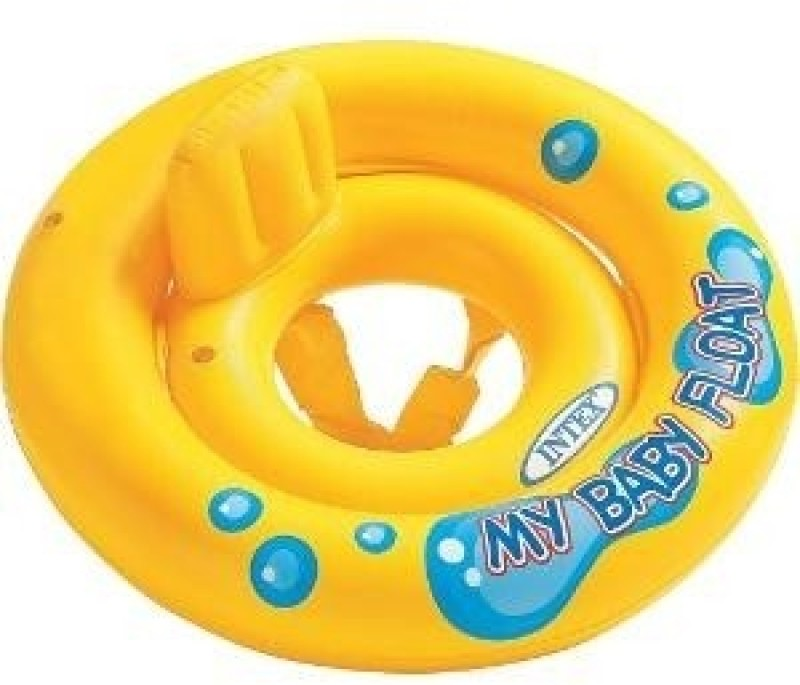 Intex My Baby Seat Inflatable Baby Float(Yellow)