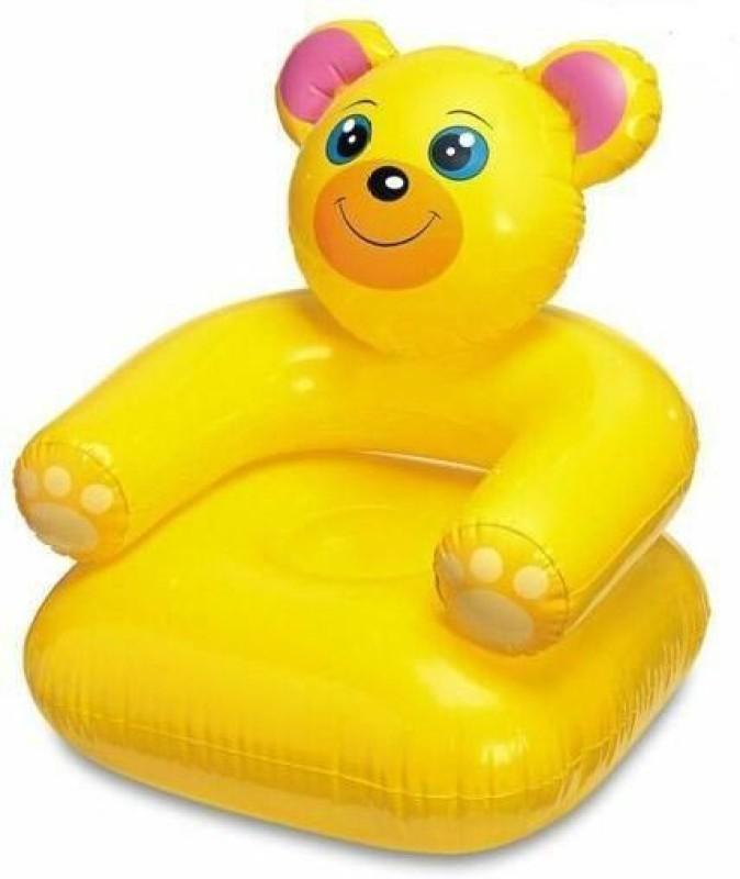 Suzi Teddy Jr Inflatable Chair(Yellow)