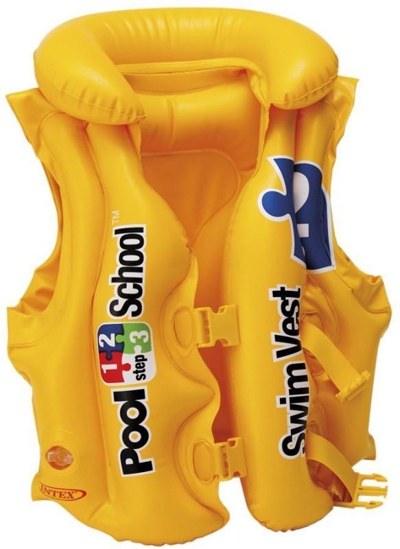 Intex Pool School Deluxe Swim Vest Inflatable Swim Vest(Yellow)