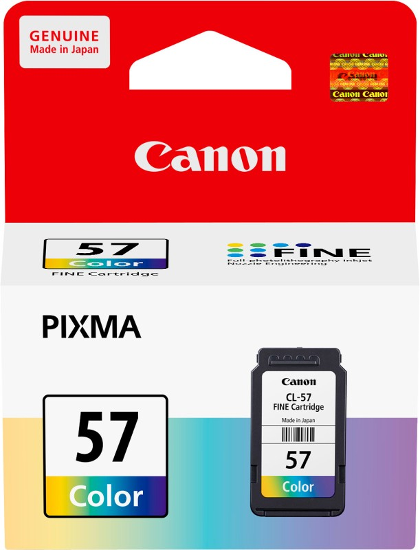 Canon CL57 Tricolor Ink Catridge(Magenta, Cyan, Yellow) CL57