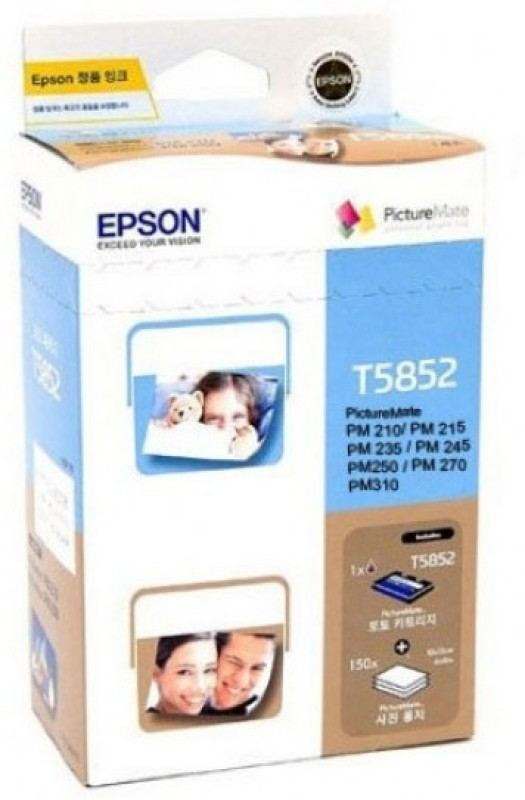 Epson T5852 Pm 210, 245 310 Multi Color Ink(Black, Magenta, Cyan, Yellow) Epson Cartridges T5852