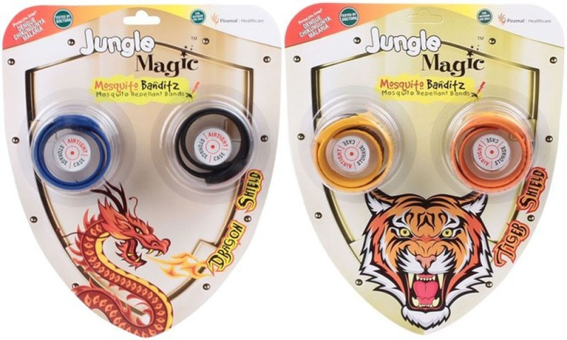 Jungle Magic Dragon+Tiger Shield(4 x 6 g)