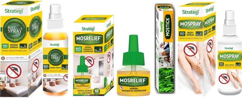 Herbal Strategi Mosquito Hamper(4 x 187.5 g)
