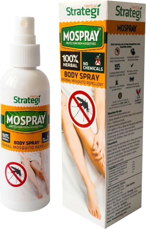Herbal Strategi Mosquito Repellent Body Spray - 100ml(100 ml)