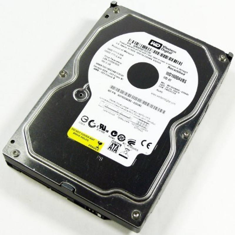 WD av 160 GB Desktop Internal Hard Disk Drive (WD1600AVBS)
