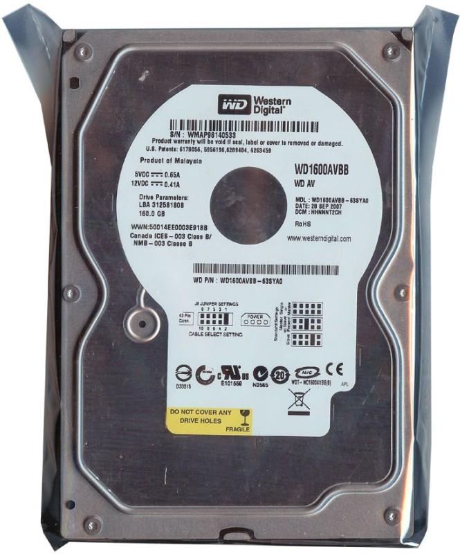WD Ide 160 GB Desktop Internal Hard Disk Drive (WD Cavier Normal)