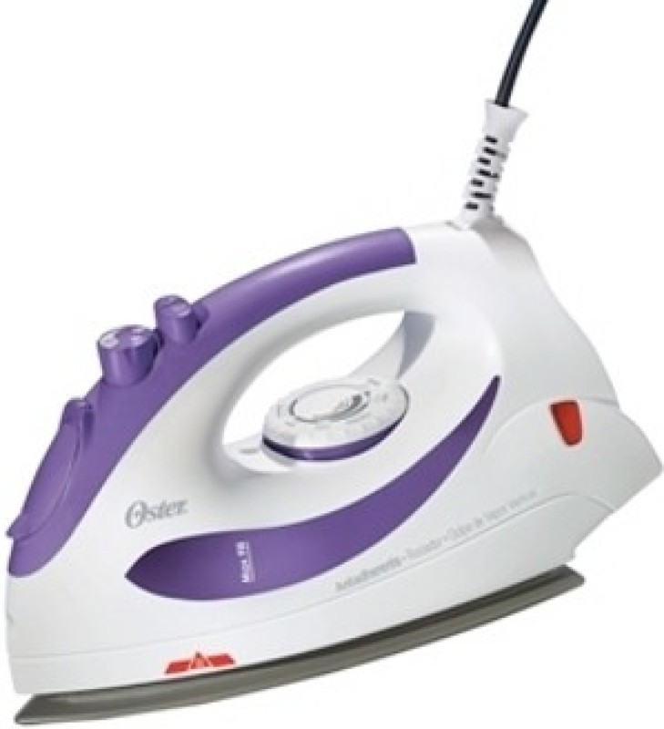 Oster 5106-449 Steam Iron(White & Purple)