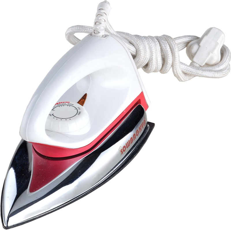 sowbaghya DI01 Dry Iron(white,silver)