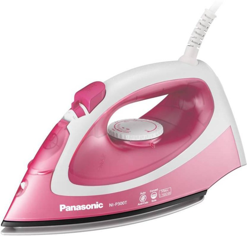 Panasonic NI-P300TRSM Steam Iron(Pink and White)
