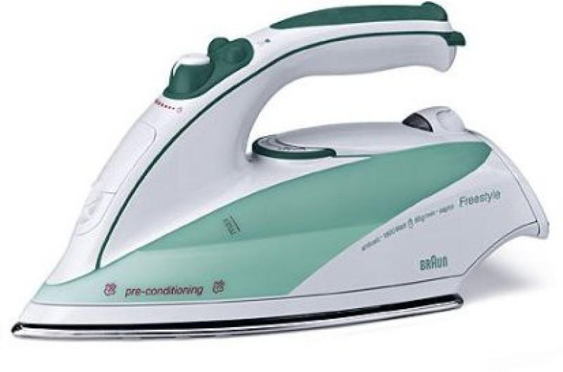 Braun BRN-TS5510 Steam Iron(white/green)