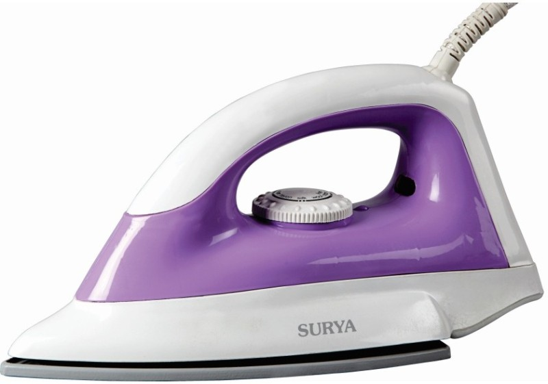 Surya Creaz Dry Iron(White, Purple)