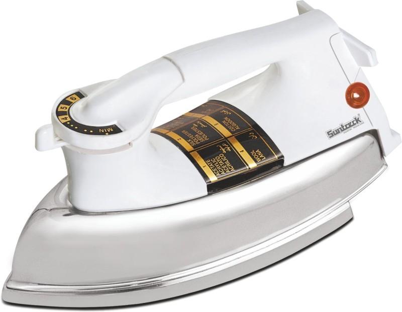 Suntreck Plancha Heavy Weight Dry Iron(White)