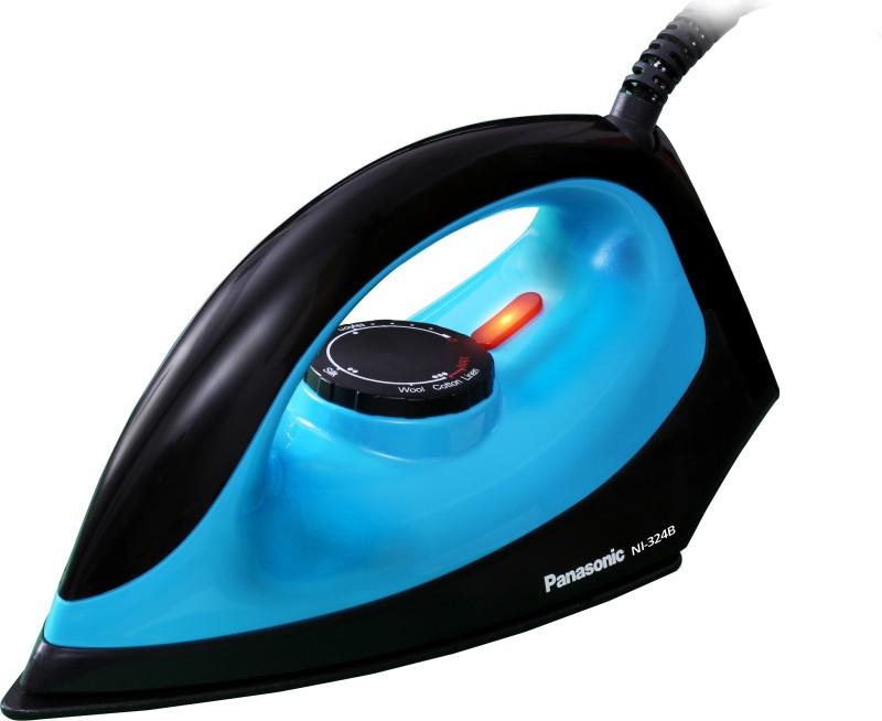 Panasonic NI-324B 1100 W Dry Iron(Blue and Black)