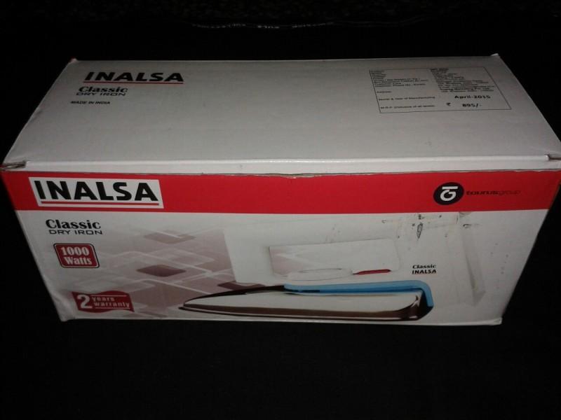 Inalsa Classic Dry Iron(White)
